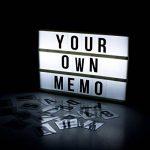 Global Gizmos miniature A63rangées LED cinématographique Boîte à lumière avec lettres, chiffres et symboles, carreaux, plastique, blanc de la marque Global Gizmos image 3 produit