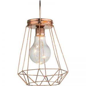 GLOBO LIGHTING Lampe a suspendre - Ampoule LED incluse - Diametre 12.5 cm - Hauteur 17.5 cm - 0.06W 3V de la marque GLOBO LIGHTING image 0 produit
