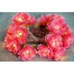 Générique 20-LED Guirlande Lumineuse Motif Fleur Rose Lamps Blanc Lumière Noël de la marque Générique image 4 produit