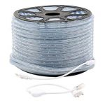 GreenSun 50m Ruban à LED Strip Flexible Bande éclairage 36Leds/m IP65 étanche Bleu utiliser directement pas besoin de l'adapteur de la marque GreenSun image 2 produit
