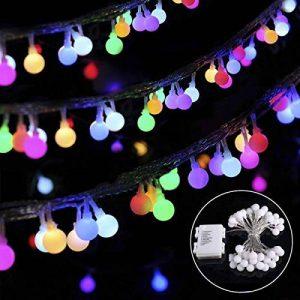 guirlande boule couleur TOP 6 image 0 produit