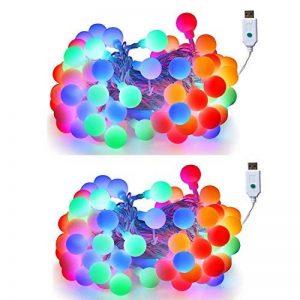 guirlande boule couleur TOP 7 image 0 produit