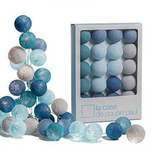 guirlande boule lumineuse bleu TOP 0 image 0 produit