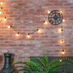 Guirlande Guinguette Lumineuse Décorative 20 Ampoules Opaques LED Éclairage Blanc Chaud - Intérieur/Extérieur Waterproof 4,75m de la marque Festive Lights image 2 produit