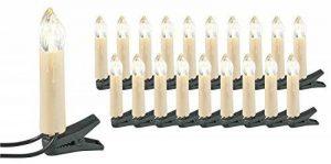Guirlande imitation bougie - 20 lampes LED de la marque Lunartec image 0 produit
