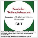 Guirlande imitation bougie - 20 lampes LED de la marque Lunartec image 4 produit