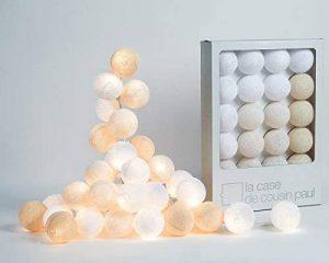 Guirlande lumineuse 20 boules colorées - Modèle Uyuni de la marque La Case de Cousin Paul image 0 produit