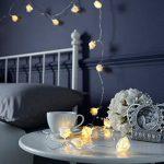 Guirlande Lumineuse 20 Roses Ivoire 20 LED Blanc Chaud 3,80 Mètres à Pile de la marque Festive Lights image 1 produit