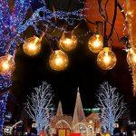 Guirlande Lumineuse Ampoules, tronsiky Guinguette Lumineuse Raccordable à 25 G40 Lampes Blanc Chaud Lumière Décoration Extérieur et Intérieur pour Fête, Noël, Mariage, Anniversaire, Chambre, Jardin de la marque tronisky image 1 produit