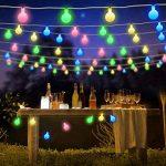 guirlande lumineuse avec boules multicolores TOP 2 image 1 produit