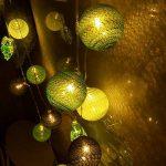 guirlande lumineuse avec boules multicolores TOP 3 image 1 produit