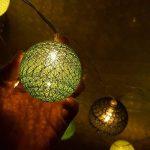 guirlande lumineuse avec boules multicolores TOP 3 image 3 produit