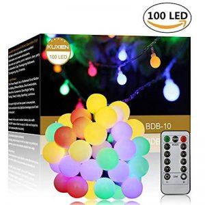 guirlande lumineuse avec boules multicolores TOP 5 image 0 produit