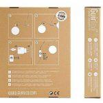 Guirlande lumineuse boules coton LED USB - Chargeur double USB 2A inclus - 3 intensités - 16 boules - Avatar de la marque GuirLED image 1 produit