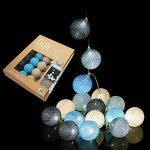 Guirlande lumineuse boules coton LED USB - Chargeur double USB 2A inclus - 3 intensités - 16 boules - Avatar de la marque GuirLED image 2 produit