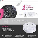 Guirlande lumineuse boules coton LED USB - Télécommande sans fil - Chargeur double USB 2A inclus - 4 intensités - 16 boules - Avatar de la marque GuirLED image 1 produit