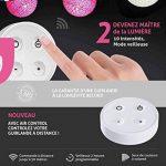 Guirlande lumineuse boules coton LED USB - Télécommande sans fil - Chargeur double USB 2A inclus - 4 intensités - 16 boules - Avatar de la marque GuirLED image 2 produit
