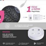 Guirlande lumineuse boules coton LED USB - Télécommande sans fil - Chargeur double USB 2A inclus - 4 intensités - 16 boules - Tagada de la marque GuirLED image 1 produit