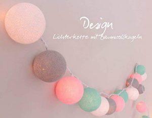 Guirlande lumineuse 'chambre de bébé' avec 35 boules de coton pour l'utilisation à l'intérieur de la marque Illuminate Your Home image 0 produit