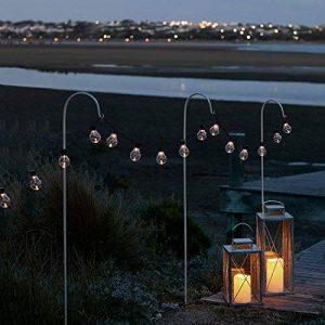 Guirlande Lumineuse Guinguette 20 Boules LED Blanc Chaud à Piles pour Intérieur/Extérieur Lights4fun de la marque Lights4fun image 0 produit