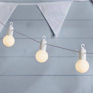 Guirlande Lumineuse Guinguette 20 Boules LED Blanc Chaud pour Intérieur/Extérieur Lights4fun de la marque Lights4fun image 0 produit