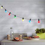 Guirlande Lumineuse Guinguette 20 Boules LED Multicolores pour Intérieur/Extérieur Lights4fun de la marque Lights4fun image 1 produit