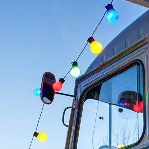 Guirlande Lumineuse Guinguette 30 Boules LED Multicolores pour Intérieur/Extérieur Lights4fun de la marque Lights4fun image 0 produit