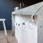 Guirlande Lumineuse Guinguette avec 10 Boules Rétro LED Blanc Chaud à Piles pour Intérieur/Extérieur Lights4fun de la marque Lights4fun image 1 produit