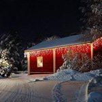 Guirlande lumineuse LED 12M Rideau de pluie 8fonctions Memory 360LED Glace Pluie blanc chaud de la marque Unbekannt image 2 produit