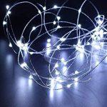 Guirlande lumineuse LED à piles, Litexim 10m/10m Couleur Blanc chaud Guirlande lumineuse avec 100LED pour fête de mariage de Noël Festival Décoration de la marque LiteXim image 1 produit