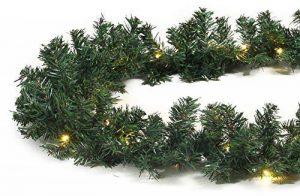 Guirlande lumineuse Noël imitation sapin 8,1 m 120 LED extérieur de la marque Gartenpirat image 0 produit
