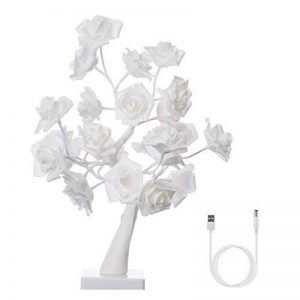 guirlande lumineuse roses blanches TOP 2 image 0 produit