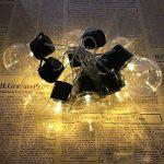 Guirlande Lumineuse Solaire Ampoules,KINGCOO Imperméable 10 LED Globe Boules Lumières Décoratives Lampes à Cordes pour intérieur/Extérieur,Jardin,Décorations de Noël Éclairage (Blanc Chaud) de la marque KINGCOO image 2 produit