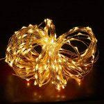 Guirlande Lumineuse Spriak [Paquet de 2] 5M 50 LEDs, LED Etanche à Piles Extérieur/Intérieur, 8 modes, Fonction Minuterie, Décoration Maison,Fêtes, Mariages de la marque Spriak image 2 produit