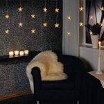 Guirlande rideau lumineuse 20 étoiles blanc chaud de la marque Best Season image 3 produit