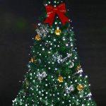 Guirlande Solaire Lumière,72ft 200led guirlande lumineuses exterieur,guirlande led solaire,8 mode scintillant imperméable lampe arbre lumineux led pour noel,mariage,jardin decoratio (chaud) de la marque MagicLux Tech image 3 produit