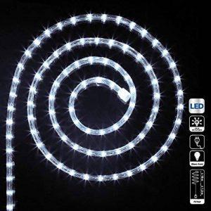 Guirlande Tube lumineux 18 mètres Ampoules LED Blanc froid et 8 jeux de lumière de la marque FEERIC LIGHTS image 0 produit