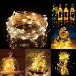 Guirlandes Lumineuse Étanche Cuivre Fil 10M 100 LEDs Comme Etoilées Lumières LED pour Noël Mariage Décoration d'extérieur et intérieure Charger par USB de la marque HanLuckyStars image 3 produit