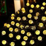 Guirlandes solaires, OxyLED 30 LED Jardin Patio Extérieur Guirlandes, Lumières D'intérieur / Extérieurs Extérieurs, Grand Jardin Terrasse Patio Extérieur Lumières De Noël (Ambiance Light) de la marque OXYLED image 2 produit