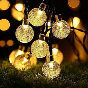 Guirlandes solaires, OxyLED 30 LED Jardin Patio Extérieur Guirlandes, Lumières D'intérieur / Extérieurs Extérieurs, Grand Jardin Terrasse Patio Extérieur Lumières De Noël (Ambiance Light) de la marque OXYLED image 0 produit