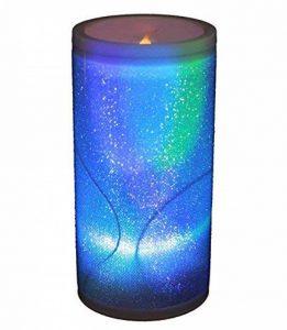 HAAC lampe lED en forme de bougie ledkerze kerzelampe avec paillettes de couleur regenbogenfarbwechsel 15 cm de la marque HAAC image 0 produit