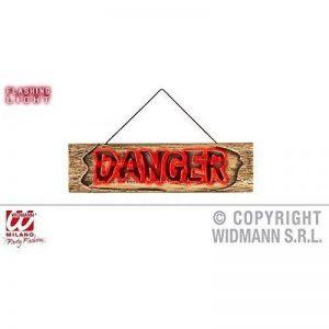 Halloween Signes avec Lumière Halloweenschild DANGER de la marque Lively Moments image 0 produit