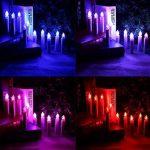 Hengda 30 Set LED bougies guirlandes de sapin de Noël avec télécommande fonction minuterie RGB LED bougies arbre bougie sans fil de la marque Hengda image 2 produit