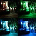 Hengda 50 LED Noël bougies RVB lumières de Noël lumières, avec télécommande infrarouge radio, sans fil, clip vert de la marque Hengda image 2 produit