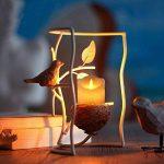 homemory pack de 2 flameless pilier bougie, contrôle à distance, 2 / 4 / 6 / 8hours minuteur, dimmer, bougie / lumière mode, 5 pouces conduit fausse bougie en cire d'ivoire flamme de lampe, église, feu de cheminée de la marque Homemory image 3 produit