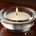 Hosley Lot de 6Verre Clair Grosse Grande/LED bougie chauffe-plat–8,9cm de diamètre. Idéal pour les cadeaux de mariage et occasions spéciales, soirées, SPA, aromathérapie, SPA, violette africaine Mini pots O6. de la marque HG Global image 1 produit