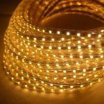 iDream - 220V 10m SMD 5050 LED Ruban Bande Strip 600 LEDs éclairage étanche waterproof - utiliser directement pas besoin de l'adapteur, plus pratique (Blanc chaud) de la marque iDream image 1 produit