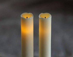 Impressions 9 bougies à piles sans flamme recouverts de cire, flamme cierges et bougies avec minuteur 5 heures de la marque Candle Impressions image 0 produit