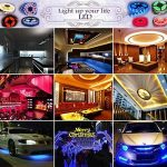 iNextStation 2*5M 3528 SMD RGB 3 Colors Flexible Waterproof 10M 600 LED Strip Light Full Kit with 24Key IR Remote Control (10M, Multi Color) de la marque iNextStation image 4 produit