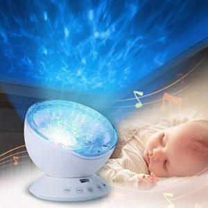 Infreecs Projecteur Lampe, 12 LED Lampe de Projection 7 Modes Lampe De Chevet Veilleuse pour La Chambre D'Enfant D'Adult Soirée Bal Cadeau Anniversaire Créatif de la marque Infreecs image 0 produit